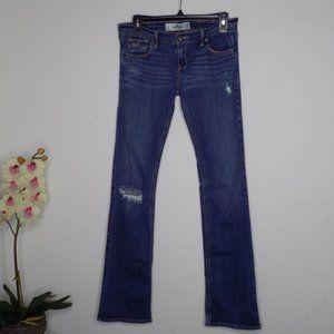 Hollister Socal Stretch Distressed Jeans Sz 3L
